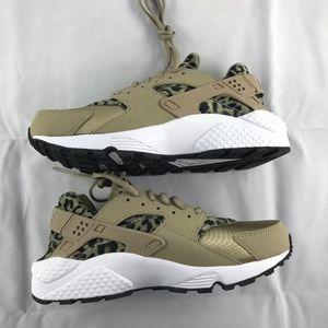 37e52af983c6 Nike Shoes - Nike WMNS Air Huarache Run Print Leopard Khaki